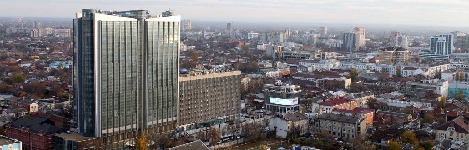 Hotel «Marriott» in Krasnodar