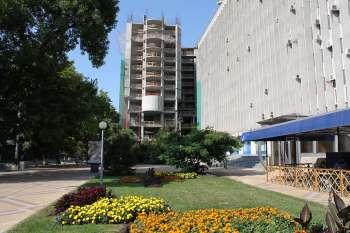 Гостиничный комплекс «MARRIOTT» в г.Краснодаре, Этап строительства, 15.08.2009