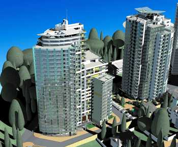 Комплекс многоквартирных жилых домов «РОМАНС О ВЛЮБЛЁННЫХ» в центральной части г.Сочи