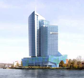 Многофункциональный деловой центр по ул. Цесовская Набережная, 12 в г.Иркутске