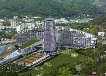«Панорама» - проект реконструкции центральной части пос.Дагомыс