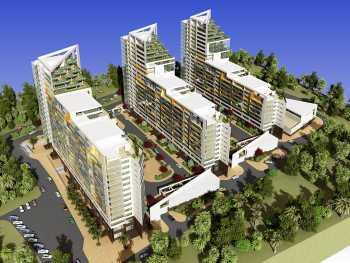 Застройка квартала зданиями переменной этажности по ул.Кирпичной в Адлерском районе г.Сочи