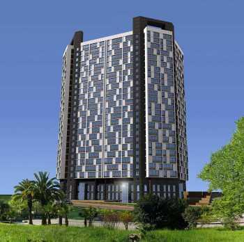 Многоэтажный жилой комплекс по ул.Виноградной, 4 в г. Сочи