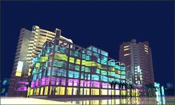 Торговый центр с административными помещениями по ул. Демократической, 37 в Адлерском районе г.Сочи