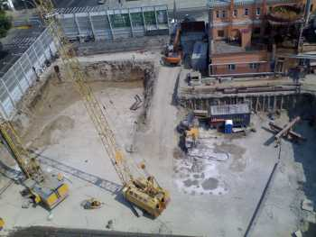 Technical solution for engineering protection at the construction site of «MARRIOTT» hotel in Krasnodar
