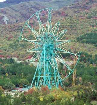 Колесо обозрения диаметром 75м в г.Геленджике Краснодарского края