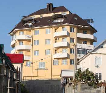 5-storey club-type apartment house in Mamayka district, Sochi